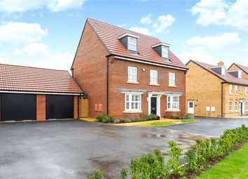 Thumbnail 5 bedroom detached house for sale in Ferebe Walk, Devizes, Wiltshire