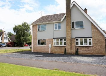 Thumbnail 5 bed detached house for sale in Larkswood, Kibworth