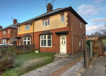 Thumbnail 2 bed semi-detached house for sale in Kirkby Road, Desford, Leicester
