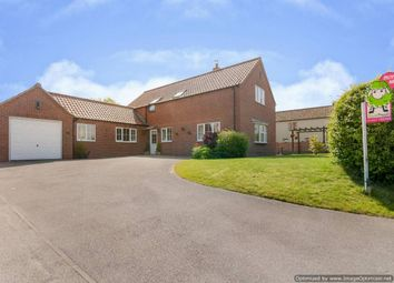 Thumbnail 4 bed detached house for sale in Grange Lane, Willingham By Stow, Gainsborough