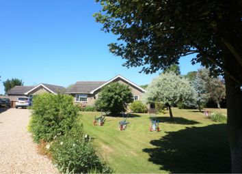 Thumbnail 5 bed detached bungalow for sale in Broad Drove East, Tydd St Giles