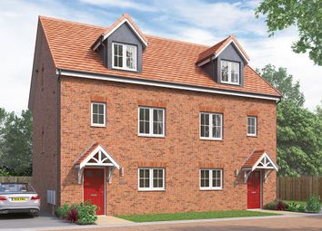 "Thumbnail 4 bed terraced house for sale in ""The Weybridge"" at Wellfield Road North, Wingate"