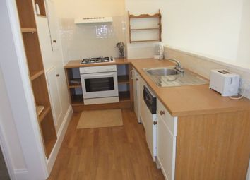 Thumbnail 1 bed flat to rent in Garden Crescent, West Hoe, Plymouth