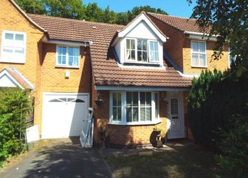 Thumbnail 3 bed terraced house for sale in Ellwood Crescent, Wollaton, Nottingham, Nottinghamshire
