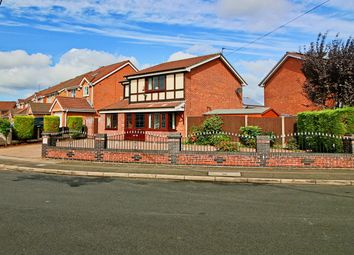 Thumbnail 4 bed detached house for sale in Brookfield Way, Tipton