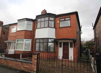 Thumbnail 3 bed semi-detached house for sale in Melville Road, Stretford, Manchester
