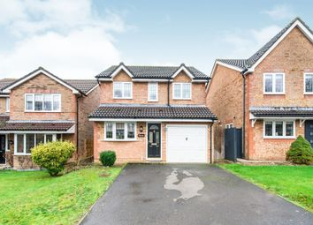 Thumbnail 3 bed detached house for sale in Pearman Drive, Andover