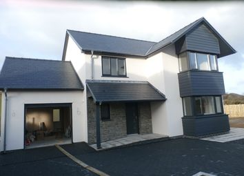 Thumbnail 4 bed detached house for sale in At Cefn Ceiro, Llandre, Bow Street, Aberystwyth