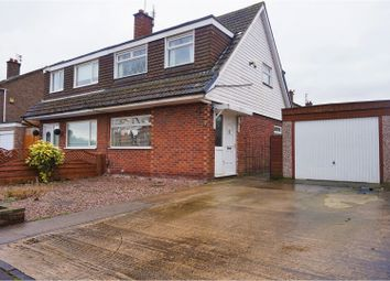Thumbnail 3 bed semi-detached house for sale in Rosslare Road, Manchester