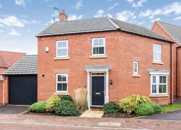 Thumbnail 3 bed detached house for sale in Bush Road, Kibworth