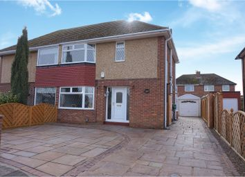Thumbnail 3 bed semi-detached house for sale in Windermere Avenue, Scartho, Grimsby