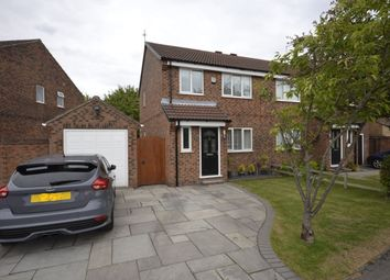Thumbnail 3 bed semi-detached house for sale in Ebsay Drive, York