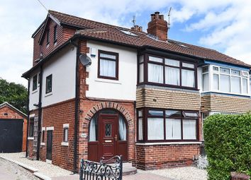 Thumbnail 4 bed semi-detached house for sale in St Martins Avenue, Chapel Allerton, Leeds