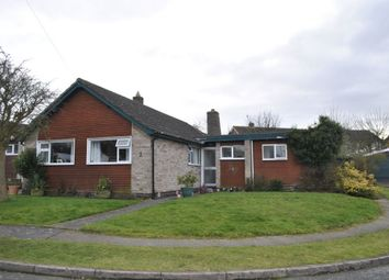 Thumbnail 4 bed bungalow for sale in Frensham Close, Oadby