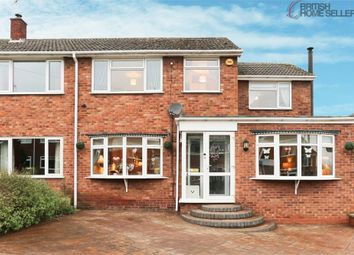 Thumbnail 4 bed semi-detached house for sale in St Davids Road, Clifton Campville, Tamworth, Staffordshire