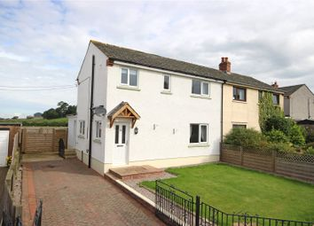 Thumbnail 3 bed semi-detached house for sale in 12 Brockley Moor, Plumpton, Penrith, Cumbria