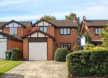 Thumbnail 4 bed detached house for sale in East View, Grappenhall, Warrington