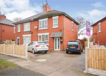 Thumbnail 3 bed semi-detached house for sale in Queensmead Road, Stoke-On-Trent