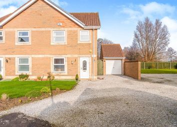Thumbnail 3 bed semi-detached house for sale in The Haven, Victoria Dock, Hull, East Yorkshire