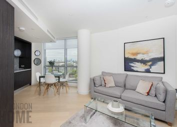 Thumbnail 1 bed flat for sale in Charrington Tower, New Providence Wharf, Canary Wharf, England