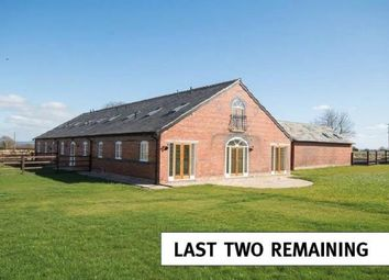 Thumbnail 5 bed barn conversion for sale in Cornish Hall Barns, Holt, Wrexham