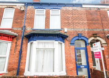 Thumbnail 2 bedroom terraced house for sale in Manvers Street, Hull