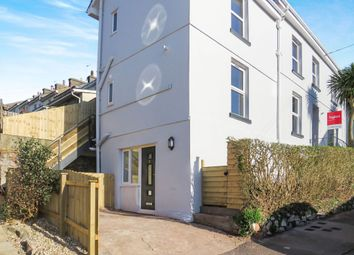 Thumbnail 1 bedroom flat for sale in Cavern Road, Torquay