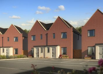 "Thumbnail 3 bed semi-detached house for sale in ""The Hanbury"" at St. Catherine Road, Basingstoke"