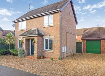 Thumbnail 3 bed detached house for sale in Wordsworth Grove, Bourne