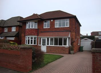 Thumbnail 4 bed detached house to rent in Cromwell Road, Cleethorpes