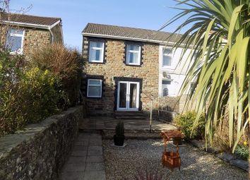 Thumbnail 2 bed semi-detached house for sale in Bryn Road, Brynmenyn, Bridgend