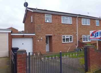Thumbnail 3 bed semi-detached house for sale in Cedardean, Cinderford