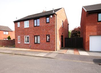 Thumbnail 2 bed semi-detached house for sale in Netherton Close, Langley Park, Durham
