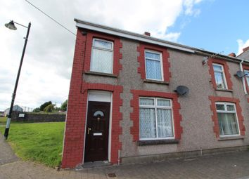 Thumbnail 2 bedroom end terrace house to rent in St. Cattwgs Avenue, Gelligaer, Hengoed
