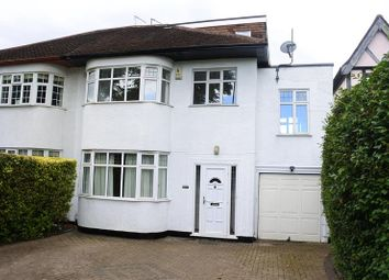 Thumbnail 5 bedroom semi-detached house to rent in Bramley Road, London