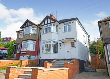 Thumbnail 3 bed semi-detached house for sale in Fairfields Close, Kingsbury, London, Uk
