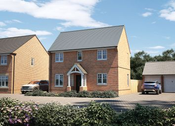 """Thumbnail 3 bed detached house for sale in """"The Trelissick"""" at Marton Road, Long Itchington, Southam"""