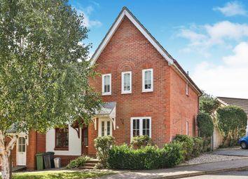 Thumbnail 3 bed semi-detached house for sale in Alan Avenue, Newton Flotman, Norwich