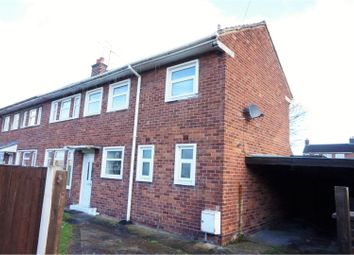 Thumbnail 3 bed end terrace house for sale in Broom Grove, Wrexham
