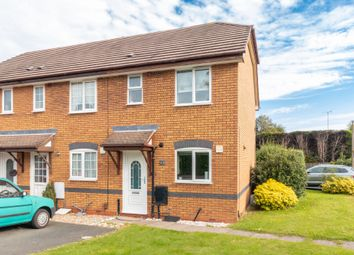 Thumbnail 2 bed end terrace house for sale in Norcombe Grove, Shirley, Solihull