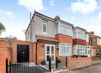 Thumbnail 3 bed semi-detached house for sale in Fawley Road, Hilsea, Portsmouth