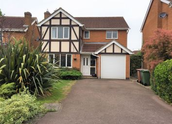 Thumbnail 4 bed detached house to rent in Hawthorn Drive, Melton Mowbray