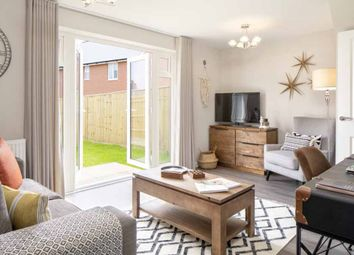 "Thumbnail 3 bed terraced house for sale in ""Leeman"" at Broughton Crossing, Broughton, Aylesbury"