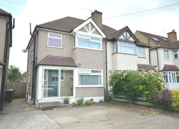 Thumbnail 4 bed semi-detached house for sale in Cherry Way, West Ewell, Epsom