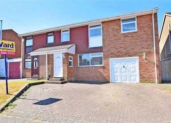 Thumbnail 5 bed semi-detached house for sale in Cranleigh Drive, Whitfield, Dover, Kent