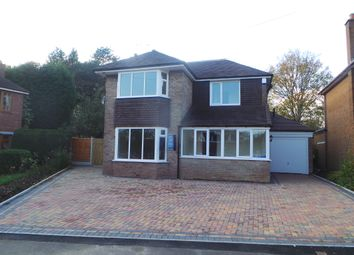 Thumbnail 4 bed detached house for sale in Field Close, Blythe Bridge, Stoke-On-Trent