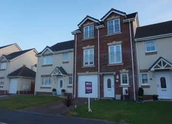 Thumbnail 4 bedroom town house for sale in Clos Y Gerddi, Llanelli