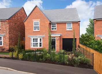 "Thumbnail 4 bedroom detached house for sale in ""Millford"" at Forest Road, Burton-On-Trent"