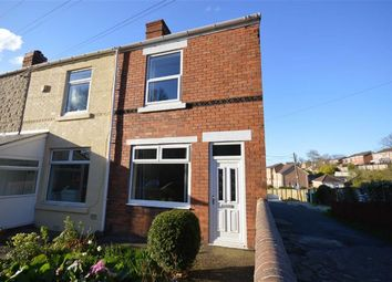 Thumbnail 3 bed end terrace house for sale in Station Road, Brimington, Chesterfield, Derbyshire