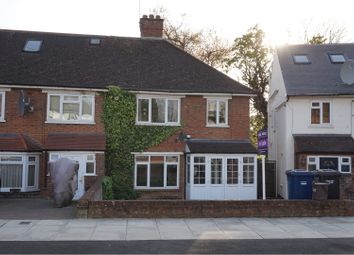 Thumbnail 3 bed semi-detached house for sale in Woodcote Avenue, London